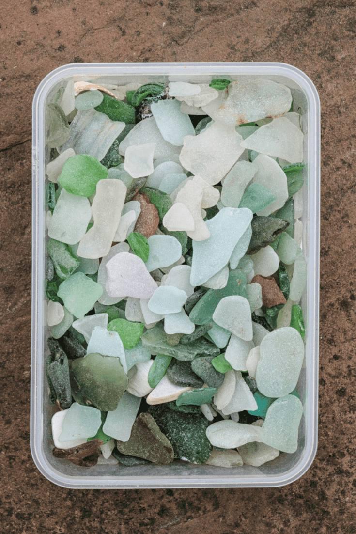 How to make sea glass jewelry