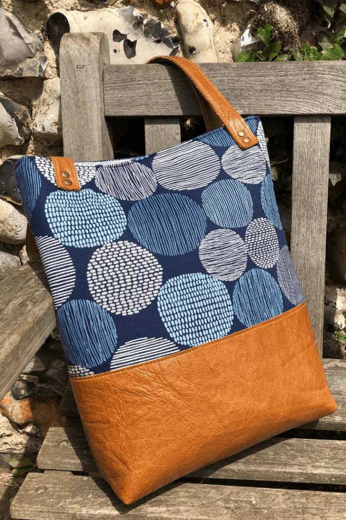 how to make a tote bag with lining