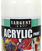 Sargent Art 24-2496 16-Ounce Acrylic Paint, White