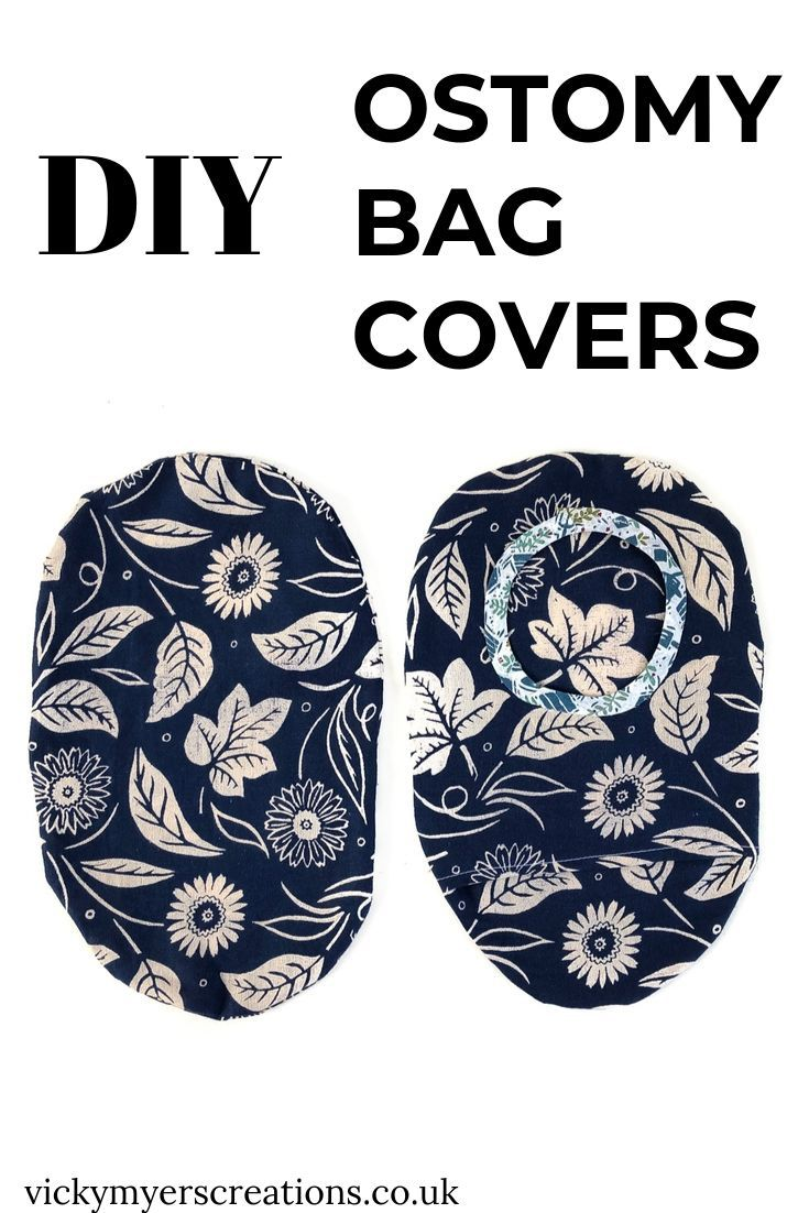 free ostomy bag cover pattern