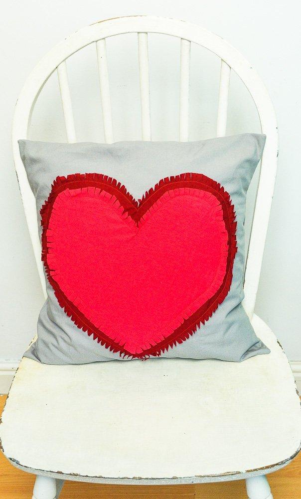 Heart Pillow pattern