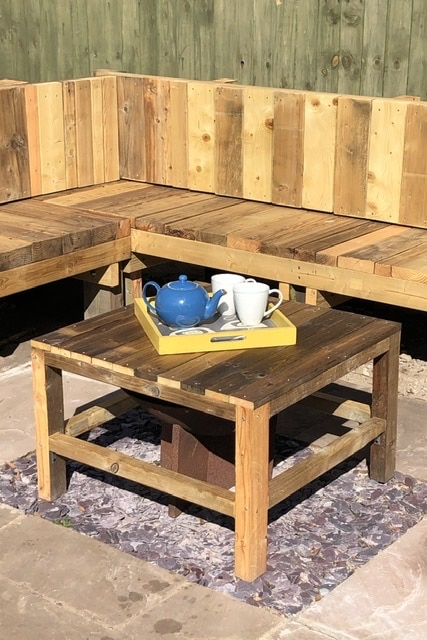 How to make a coffee table - DIY wood coffee table
