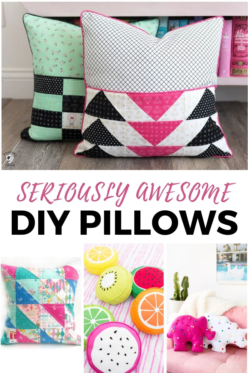 Making throw pillows is a super easy way to update your home and add a splash of personality, a pop of color and pattern to any room. 20+ free designs for you!